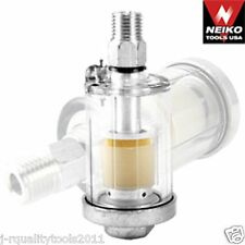 MINI INLINE AIR HOSE COMPRESSOR WATER OIL FILTER DRYER
