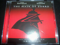 The Mask Of Zorro Soundtrack BY james Horner CD Feat Tina Arena
