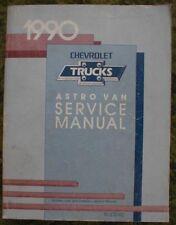 1990 Chevrolet Astro Van Service Shop Manual Trucks 90