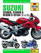 Suzuki TL1000S TL1000R DL1000 V-Strom Repair Manual NEW Owners Book Service