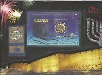 Israel 2008 Presentation Pack Souvenir Sheet Jerusalem Of Gold