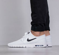 Nike Stefan Janoski Max Zapatillas Casual sb Air-UK Size 11 (EUR 46) Blanco Negro