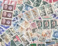FRANCE SUPER LOT A2: 100 timbres des années 1960 et 1970,Neufs sans charnière.TB