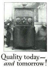 1925 RCA Radiola Radio Receiver Print Ad - Radio Corporation of America Aug 1925