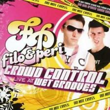 Filo & Peri : Crowd Control Live at Wetgrooves CD (2007) ***NEW*** Amazing Value