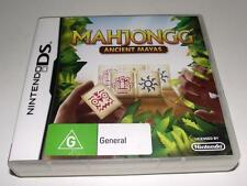 Mahjongg Ancient Mayas Nintendo DS 2DS 3DS Game Preloved *Complete*