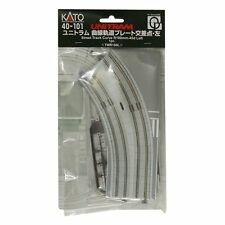New Kato Unitram 40-101 Street Track Curve R180mm-45d Left