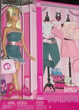 "2008  FASHION FEVER  "" BARBIE "" PINK GIFT SET"