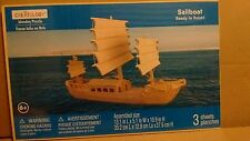 Creatology Wooden Puzzle SAILBOAT New Sealed Ages 6+