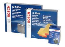 BOSCH Filtersatz Öl,Luft,Innenraum für PEUGEOT 2008,208
