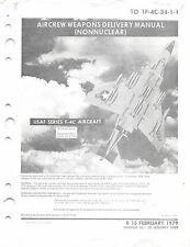 F-4C Weapons Delivery Manual Air Force Manual Flight Manual  (CD version)