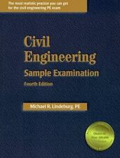 Civil Engineering Sample Examination  fourth Edition  Michael R. Lindeburg, PE