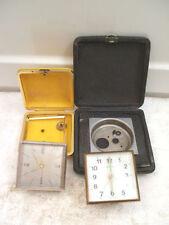 Metal German Collectable Clocks with Keys, Winders