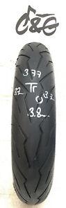 Pirelli Diablo Rosso 111    120/70zr17 58w    Part Worn Motorcycle Tyre 377