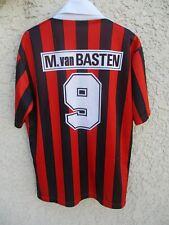 Maillot A.C MILAN vintage Marco VAN BASTEN 9 maglia Mediolanum shirt trikot 4 L