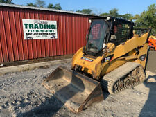 2008 Caterpillar 257b2 Compact Track Skid Steer Loader With Cab Amp 2 Speed 3300hrs