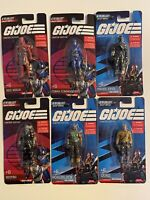 GI Joe Limited Edition 2021 COMPLETE SET of 6 MINI FIGURES Cobra Destro Figurine