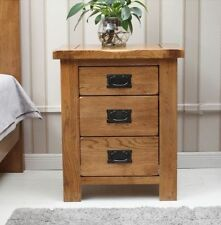 Handmade 56cm-60cm Bedside Tables & Cabinets with 3 Drawers