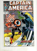 Captain America #344 SIGNED FRENZ, DWYER (Writer, Artist) NM 9.4 JOHN WALKER 323