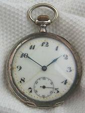 Une Belle Vieille montre de gousset OMEGA 800/- Argent de 1900