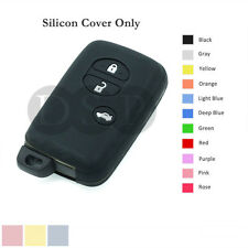 Silicone Cover fit for TOYOTA 4Runner Venza Avalon Camry Remote Key Case 3B BK