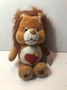 "Care Bears & Cousins Brave Heart Lion Plush 9"" 2016 Just Play Netflix Series"