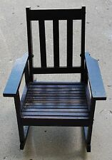 Vintage Wooden Baby Rocker Chair Bouncer