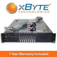 Dell PowerEdge R820 Server 4x E5-4620 2.2GHz 8C 64GB 8x Trays H710 Enterprise
