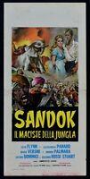 Film Sandok The Maciste Of Jungle Flynn Lenzi Umberto Panaro Stuart N11