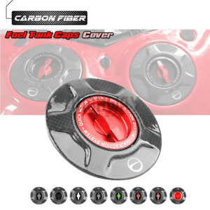 Carbon Quick Release Oil Tank Cover Fuel Caps for BMW K1600GT / K1600GTL 10-12