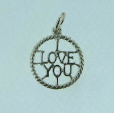 Love & Hearts without Stone Traditional Fine Charms & Charm Bracelets