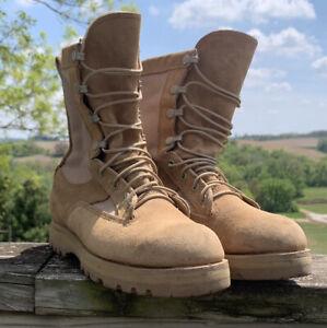 Belleville Desert Beige 790G Army Combat Boots Mens US 7 R Gore Tex Military EUC