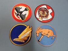 DOOLITTLE RAIDERS 35th 95th 432nd 37th WW2 AAC B-25 MITCHELL Squadron Patch Set