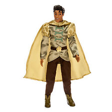 "2015 Disney Store Classic Prince Naveen Doll 12"" NIB The Princess and the Frog"