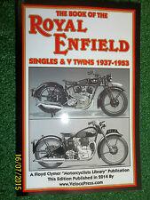ROYAL ENFIELD co g j j2k kx t s sf s2 cm jf b bm+ POCKET WORKSHOP MANUAL 1937-53