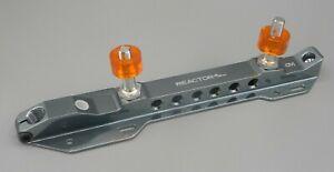Riedel PowerDyne REACTOR PRO Series Single Plate Size 9 Aluminum Quad Skate NEW