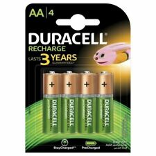 DURACELL Recharges Plus Piles Rechargeables type LR6 / AA 1300 mAh Lot de 4