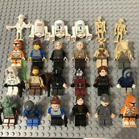 LEGO Star Wars Minifigure Bundle Job Lot Imperial Officer Hoth Anakin Droids