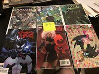 Marvel Comics Venom Conan Hulk Black Panther Comic Book Lot
