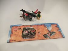 Lego 7422 Red Eagle Adventurers Orient Expedition 100% Complete