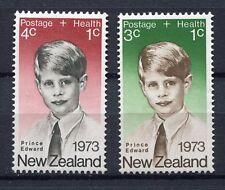 34518) NEW ZEALAND 1973 MNH** Health 2v