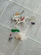 """Silvestri Fanciful Flights """"King Cat"""" Ornament by Karen Rossi Vtg 2000"""