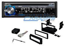 NEW AXXERA BLUETOOTH CAR STEREO RADIO CD PLAYER & USB/AUX INPUTS W/ INSTALL KIT