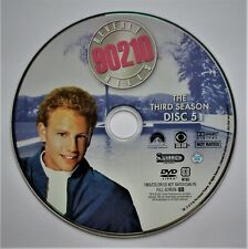 (ZERO SCRATCHES) BEVERLY HILLS 90210 - SEASON 3 DISC 5 REPLACEMENT DVD DISC ONLY