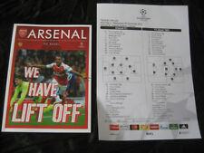 Away Team Champions League Football Programmes