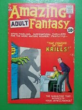 Amazing Adult Fantasy #8 Steve Ditko Stan Lee AtLas Comics (MARVEL) 1961 GD