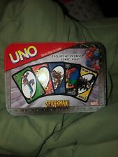 UNO Spider-Man Special Edition Card Game Marvel 100% Complete Nice Cnd