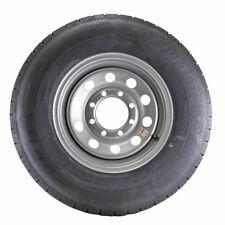 ST235/80R16 Globaltrax Trailer Tire LRE on 8 Bolt Silver Mod Wheel w/.50 offset