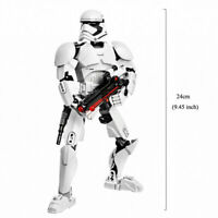 Star Wars Buildable Action Figure Stormtrooper Toy For Kid no Box