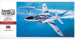 """Hasegawa 1/48 Kawasaki T-4 """"Blue Impulse"""""""